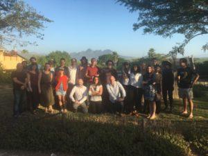 Meeting in Stellenbosch, South Africa